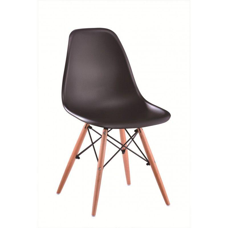 krzesło z poliwęglanu -modny wygląd , wygodne