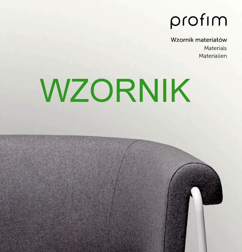 Profim - podstawowy wzornik tkanin