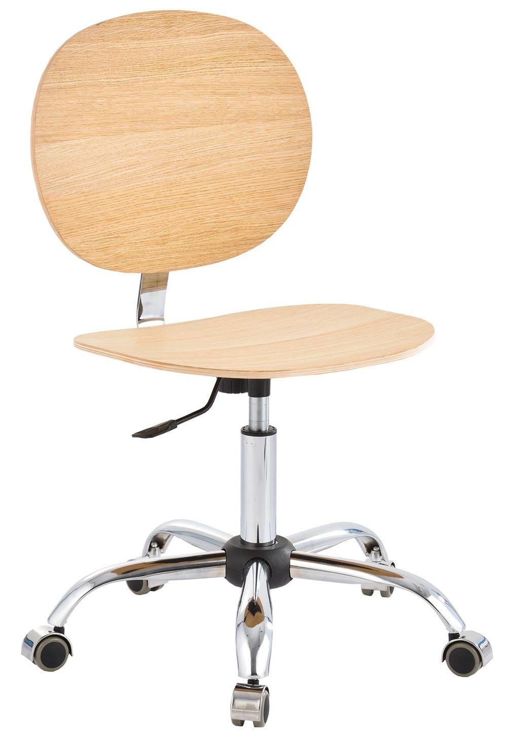 Krzesło obrotowe (sklejka drewniana) podnośnik
