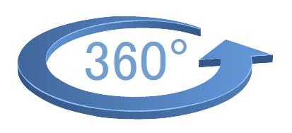 Fotel biurowy HN5018 - prezentacja 360 stopni