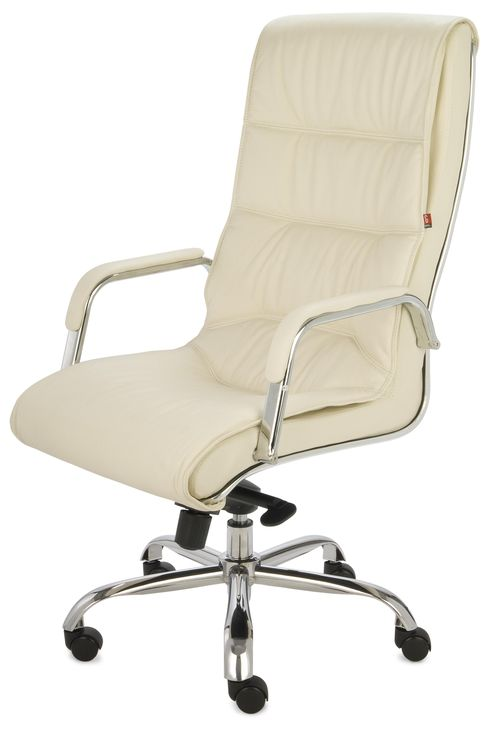 Fotel Biurowy Obrotowy Nexus Sn2 Kremowy Fotele Obrotowe Biurowe