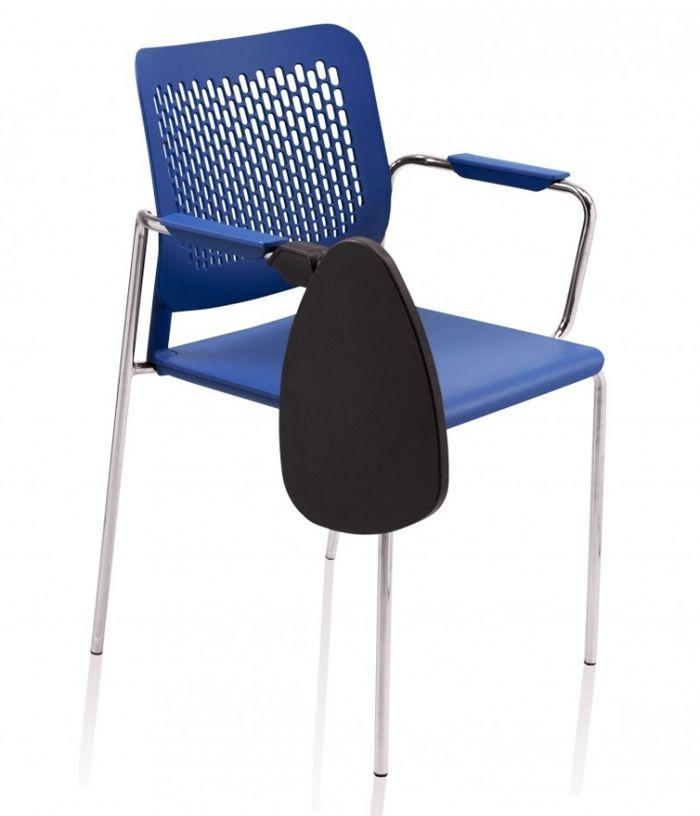 Krzesło MALIKA z podłokietnikami i pulpitem