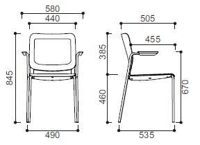 Krzesło MALIKA