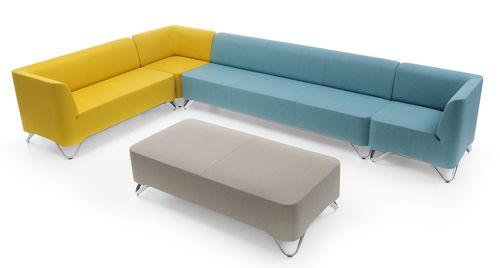 fotel recepcyjny, fotel SOFTBOX, system recepcyjny SOFTBOX