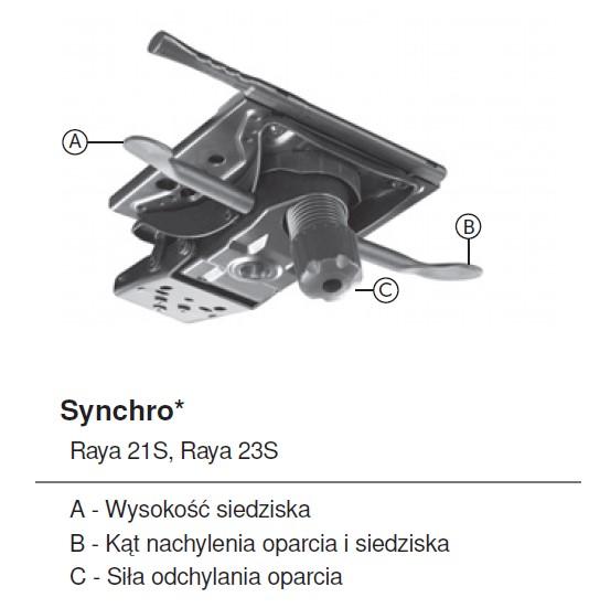 mechanizm synchroniczny RAYA