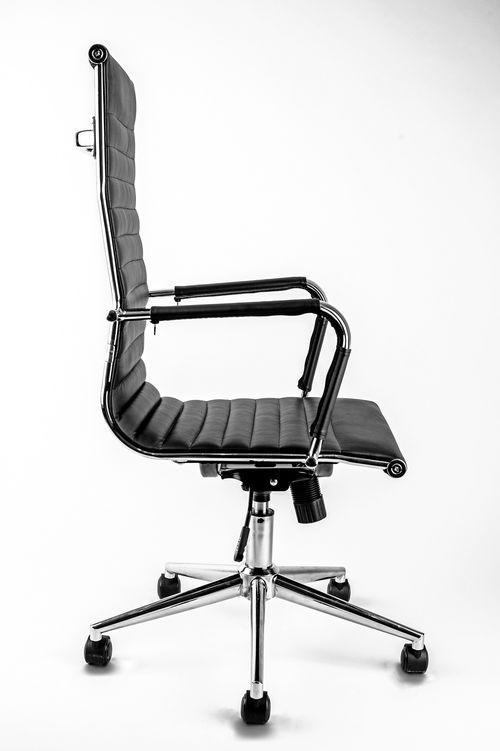 Fotel Biurowy Obrotowy Universe Czarny Wysoki Fotele Obrotowe