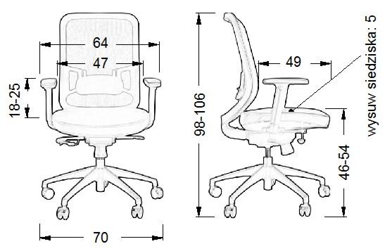 fotel biurowy,fotel obrotowy,fotel do biura,meble biurowe