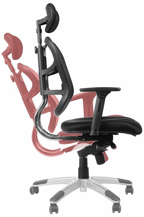 Fotel biurowy HN5018 -regulacja odchylenia oparcia fotela
