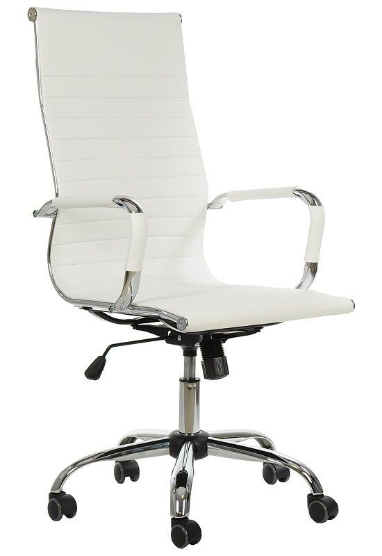 fotel biurowy,fotel gabinetowy,biały fotel obrotowy
