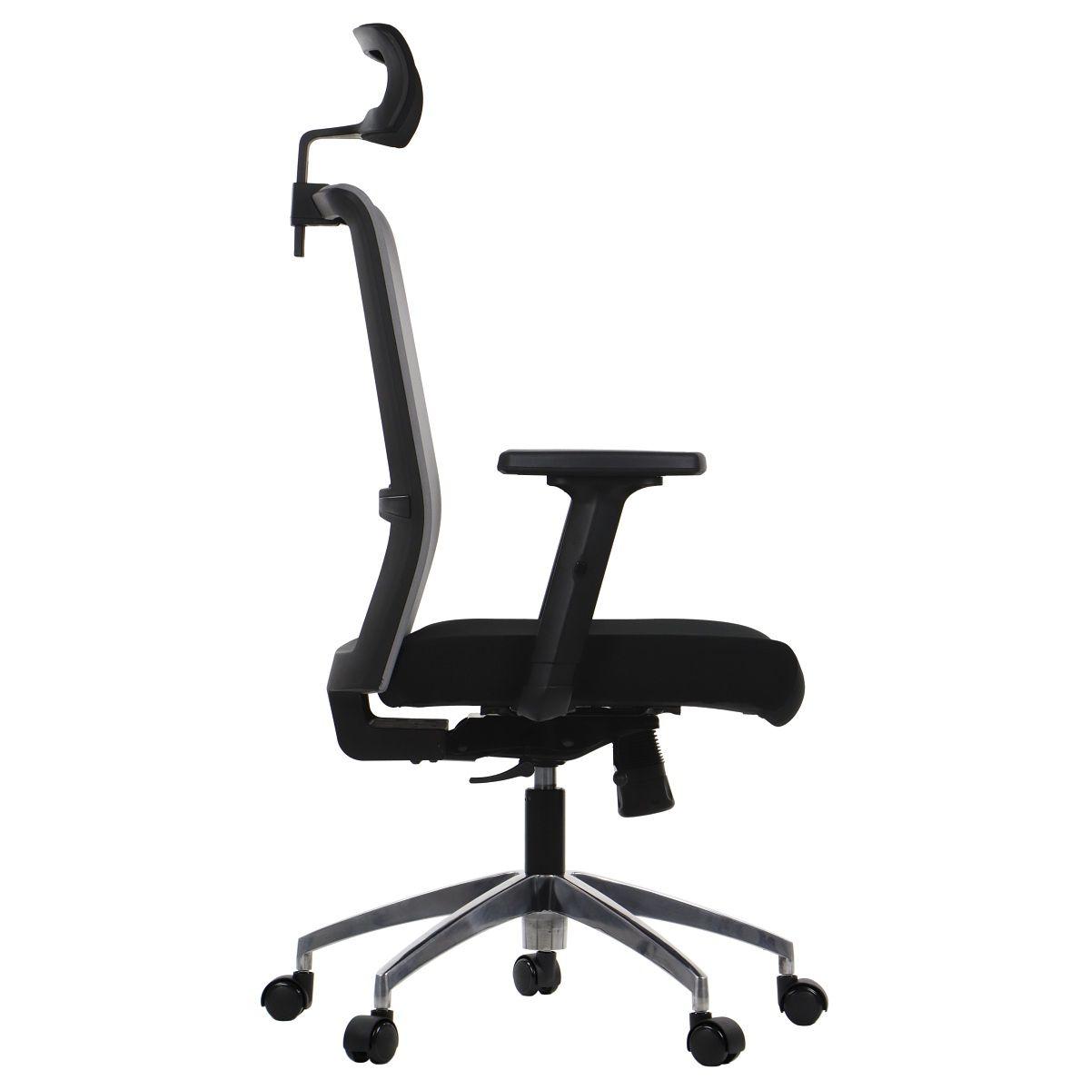Fotel biurowy Riverton-bok
