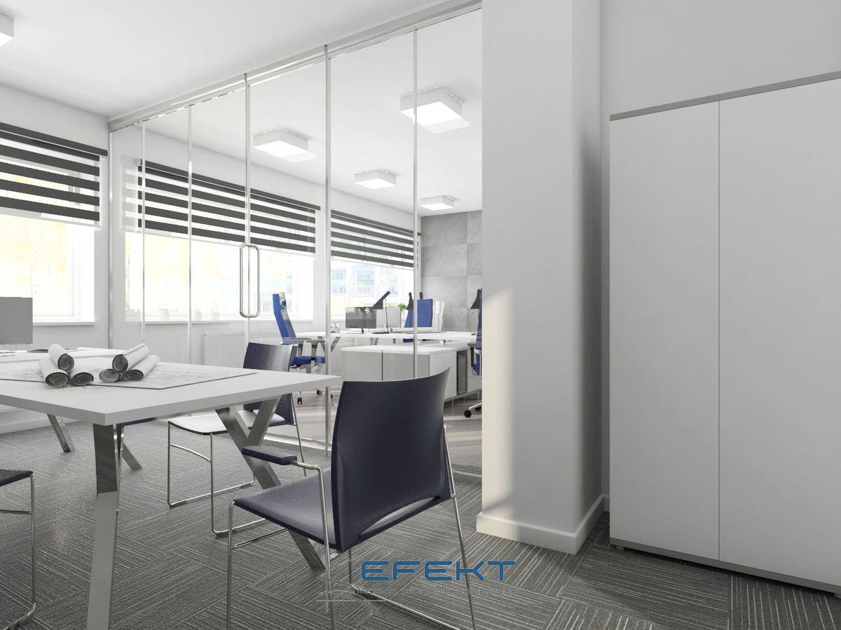 Meble biurowe -projekt wyposażenia gabinetu