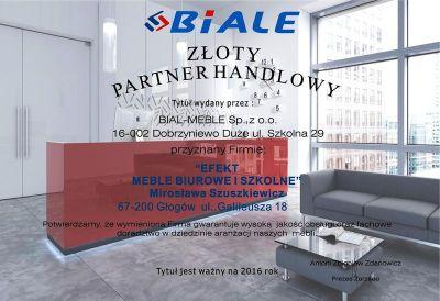 Meble Biurowe Biale Partner Handlowy Efekt Głogów Meble I Fotele