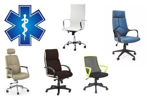 fotele biurowe,fotele obrotowe dla lekarzy