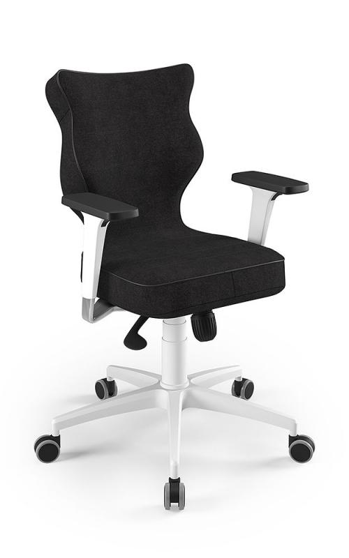 ENTELO Dobre Krzesło obrotowe Luka nr 4 kedra czarna