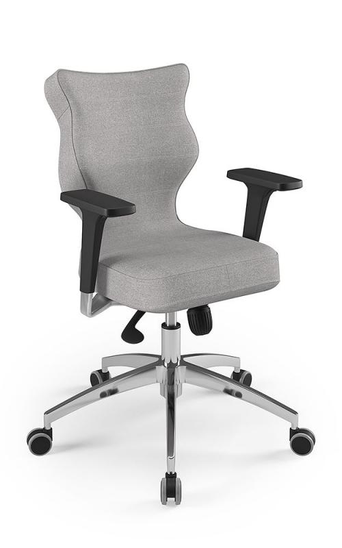 ENTELO Dobre Krzesło obrotowe RAPID rozmiar 6 - lamówka czerwona