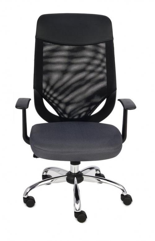 Fotel Biurowy obrotowy OPTIMAL SZARY