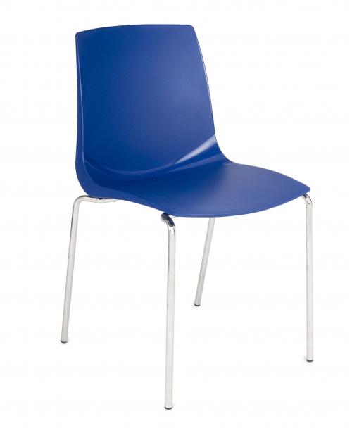 Krzesło konferencyjne ARI niebieski
