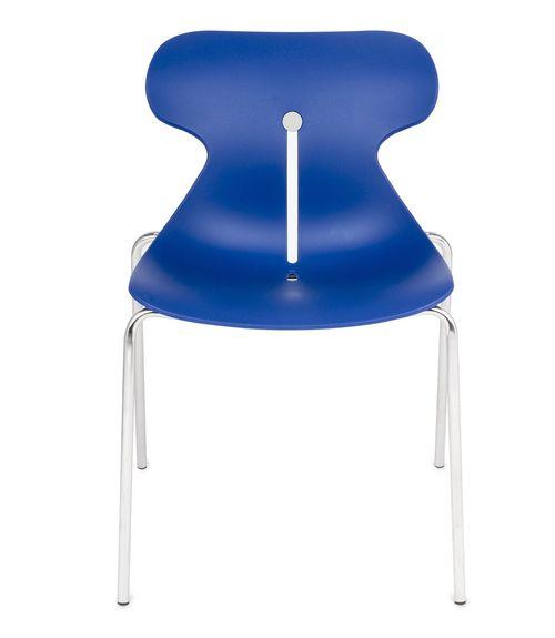 Krzesło konferencyjne MARIQUITA niebieski