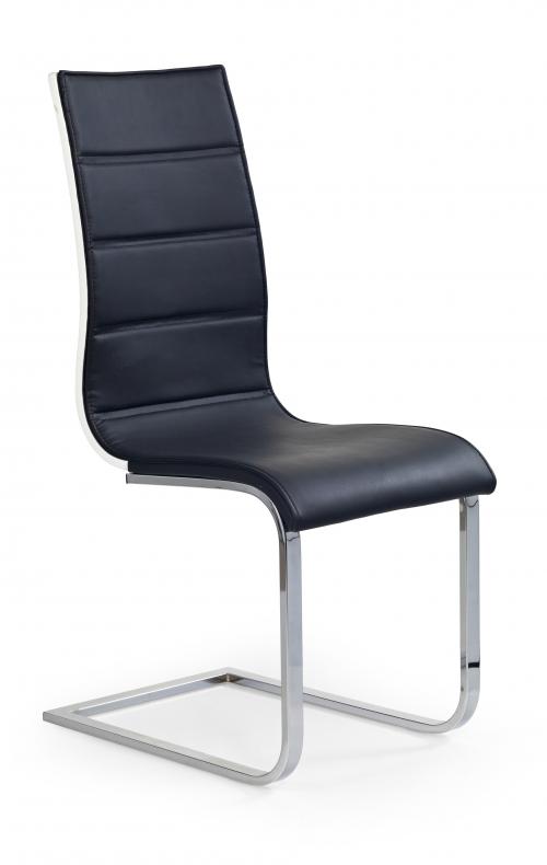 Krzesło konferencyjne K104 czarny/biały
