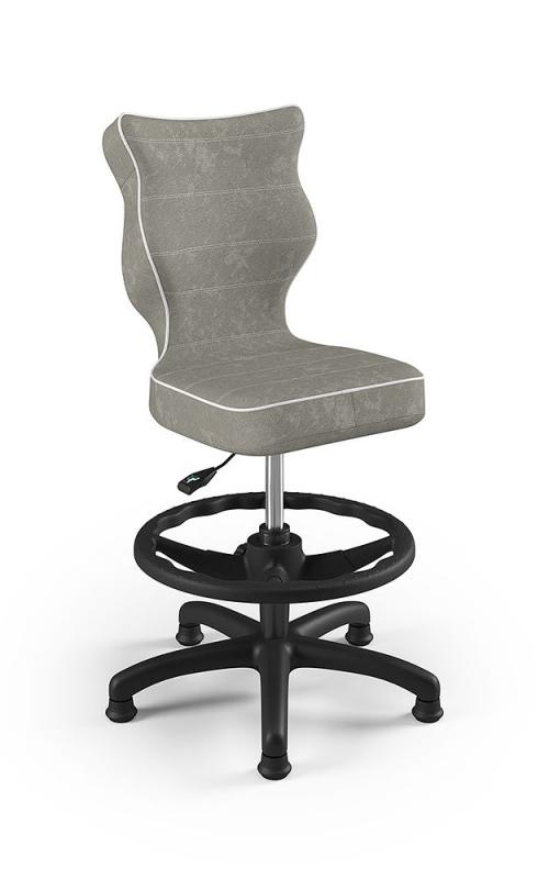 ENTELO Dobre krzesło obrotowe PETIT nr 4 WK + P - podstawa czarna