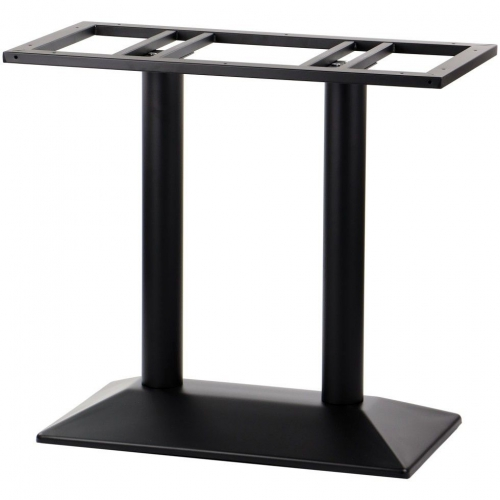Podstawa do stolika EF-SH-4001-2/B czarna - wysokość 72 cm 69,5x39,5 cm