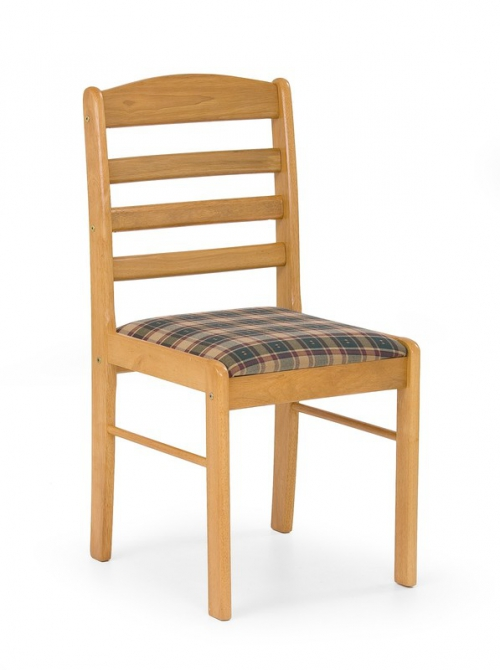 BRUNO krzesło olcha złota (1p=2szt)