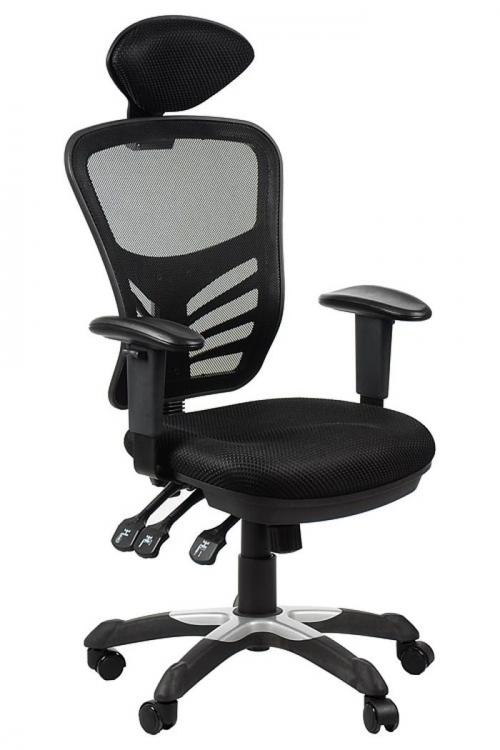 Fotel Biurowy Obrotowy  EF-HG0001H czarny