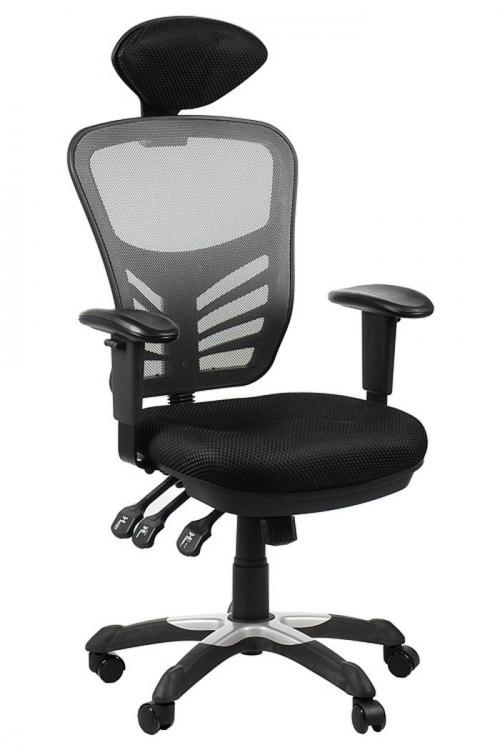 Fotel Biurowy Obrotowy  EF-HG0001H szary