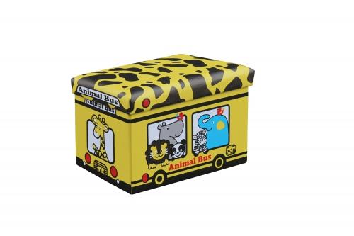KIRI pufa żółty - żyrafa (1p=4szt)