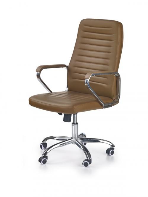 ATOM fotel gabinetowy kolor: brązowy