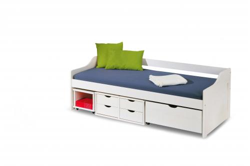 FLORO 2 łóżko białe