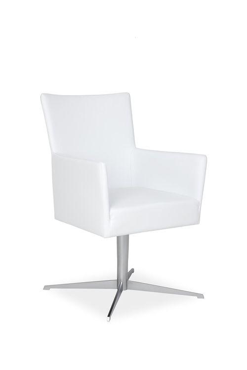 Fotel konferencyjny obrotowy TIME H32 z mech. samopowracającym