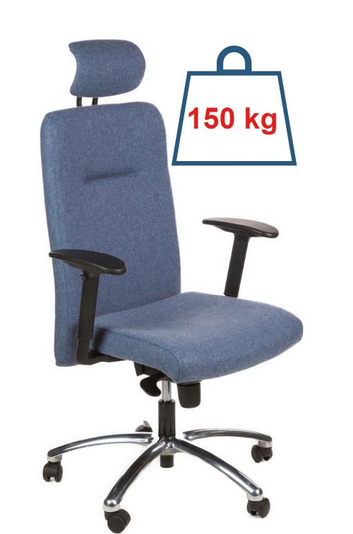 Ergonomiczny fotel biurowy z atestem do pracy 24/7 - Next AT-70-07