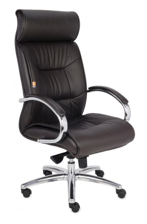 Fotel Biurowy Obrotowy SUPREME brązowy