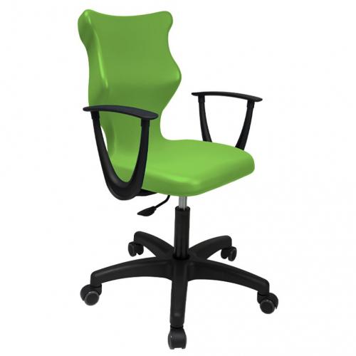 ENTELO Dobre Krzesło obrotowe TWIST naked nr 5 - z podłokietnikami