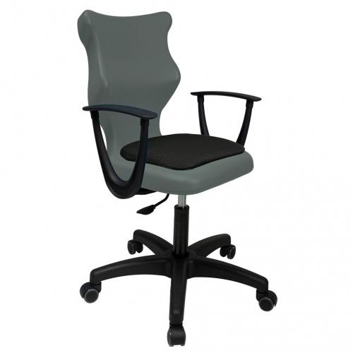 ENTELO Dobre Krzesło obrotowe TWIST soft nr 6 - z podłokietnikami