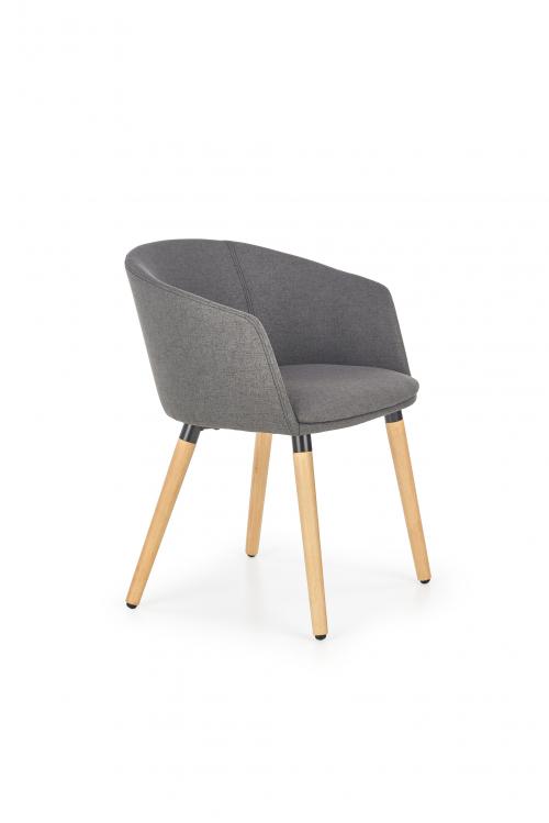 K266 krzesło ciemny popiel (1p=1szt)