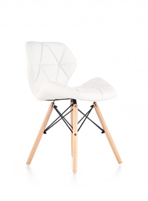 K281 krzesło biały / buk (1p=2szt)