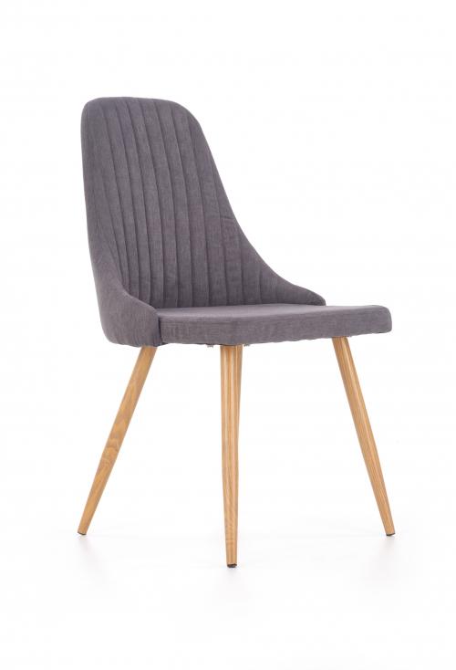 K285 krzesło ciemny popiel