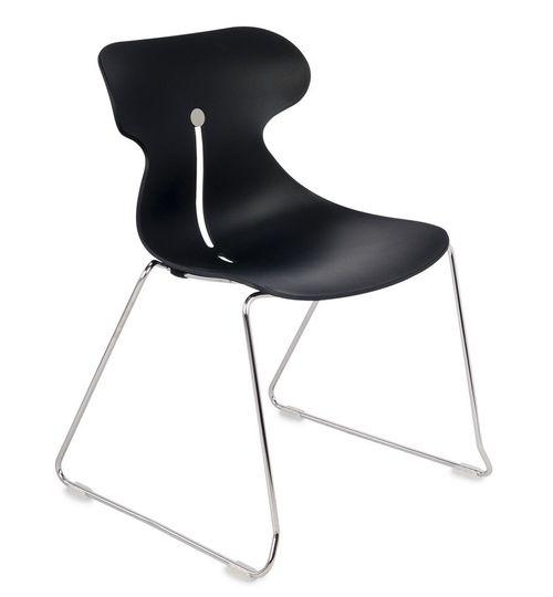 Krzesło konferencyjne MARIQUITA P czarny -płoza