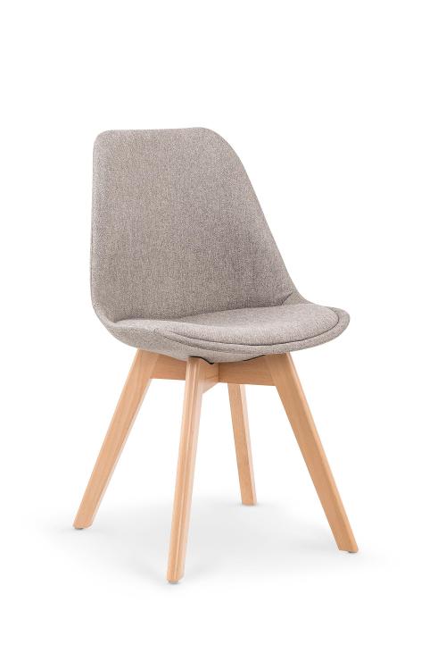 K303 krzesło jasny popiel / buk