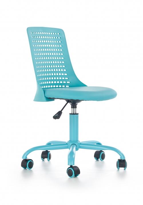 PURE fotel młodzieżowy niebieski