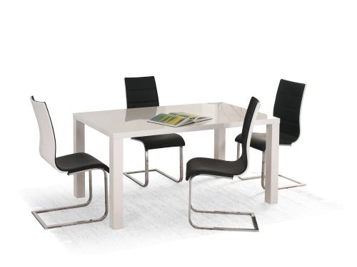 RONALD stół biały rozkładany 140÷180/80 (2p=1szt)