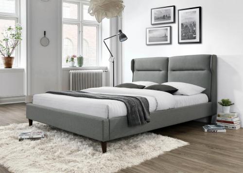 SANTINO łóżko popielaty