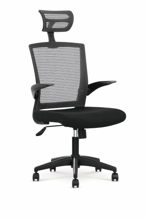 VALOR fotel pracowniczny czarno / popielaty