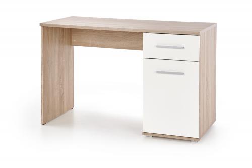 LIMA B-1 biurko dąb sonoma / biały