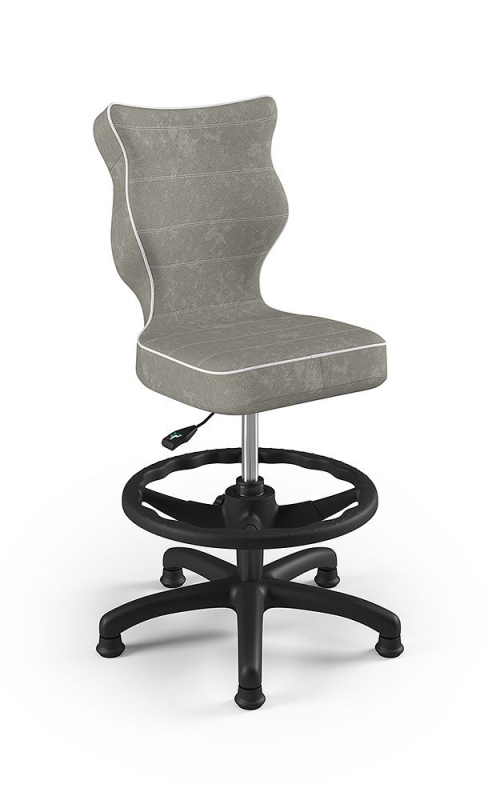ENTELO Dobre krzesło obrotowe PETIT nr 3 WK + P - podstawa czarna