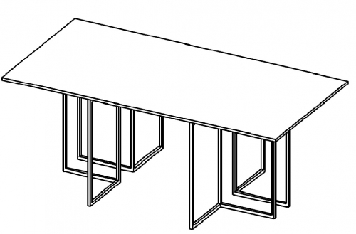 Stół konferencyjny HX 2201/ HX 2401