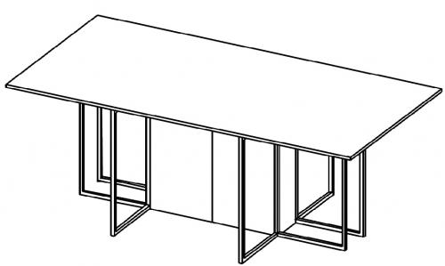 Stół konferencyjny HX 2202/ HX 2402