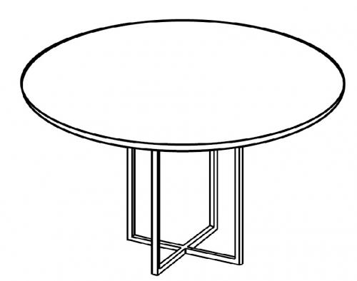 Stolik okolicznościowy fi 65 cm HX 6502